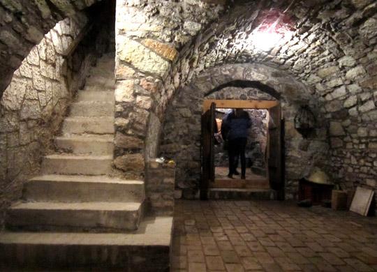 Budahazy - piwnice