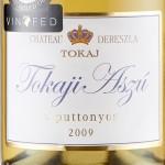 Dereszla Aszu 5P 2009 label